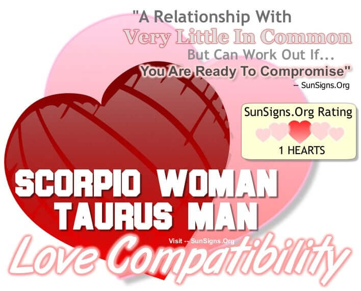 love match for scorpio woman and taurus man Scorpio and taurus – a charm of love why taurus and scorpio attracts scorpio man taurus woman attraction love compatibility gift ideas for scorpio man.