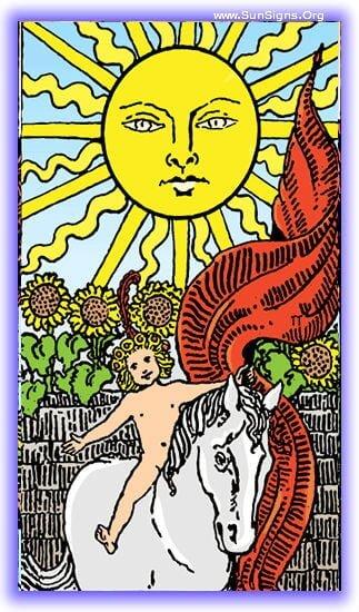 the sun upright