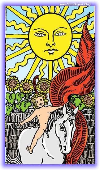 This tarot meditation of the upright sun card will focus on a decidedly positive part of our lives, our success, the fulfillment of our hopes and dreams, and that moment of recognition.