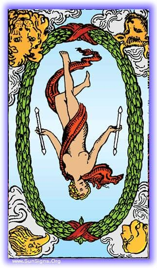 The tarot meditation on the world card reversed represents that moment where we are held up on our path for which we've been working for so long.