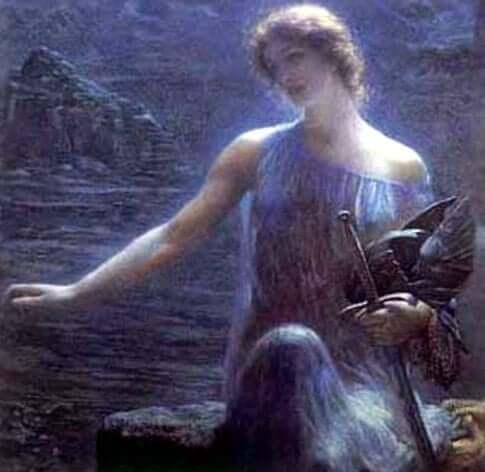 Tuatha de Danann, from the tribe of goddess Danu