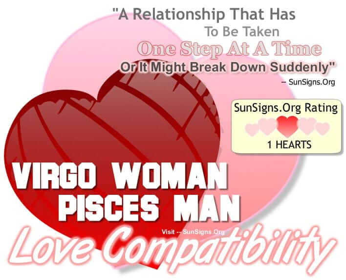 virgo woman pisces man