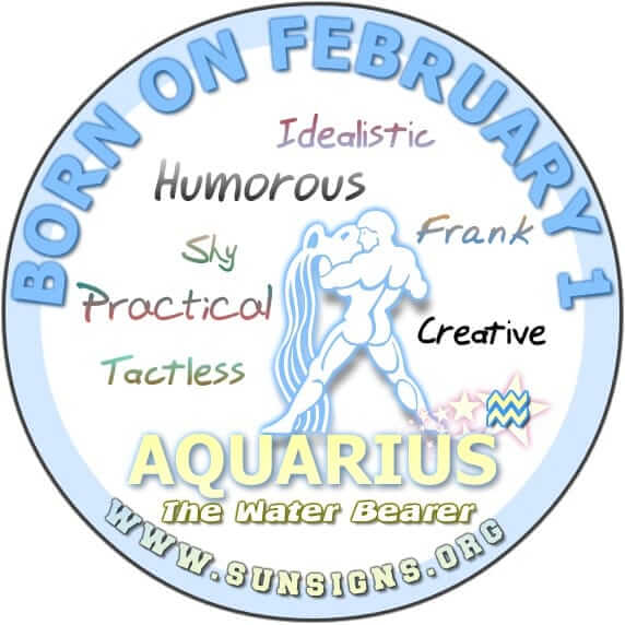 1 february birthday aquarius