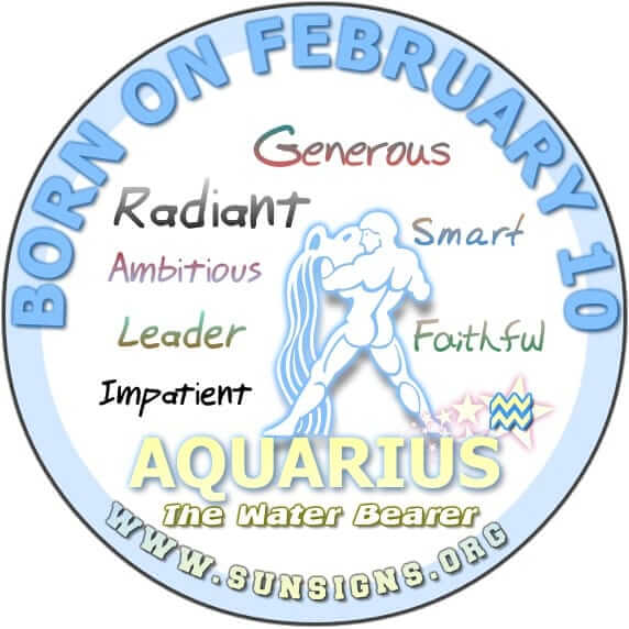 10 february birthday aquarius