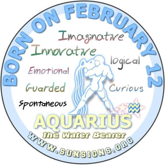 12 february birthday aquarius