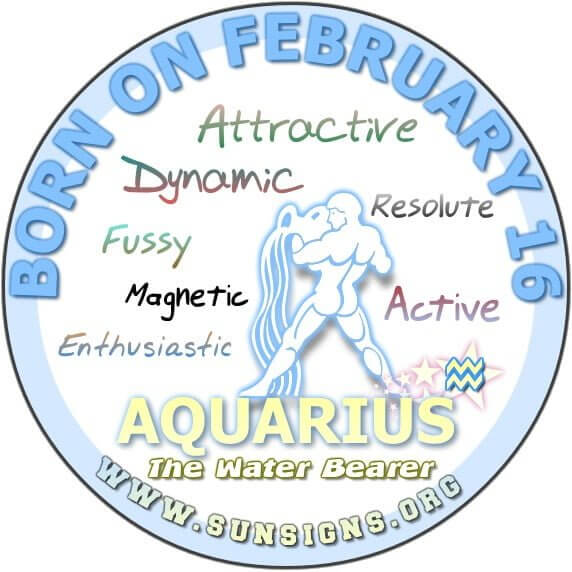 16 february birthday aquarius