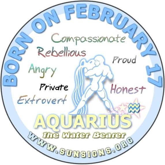17 february birthday aquarius