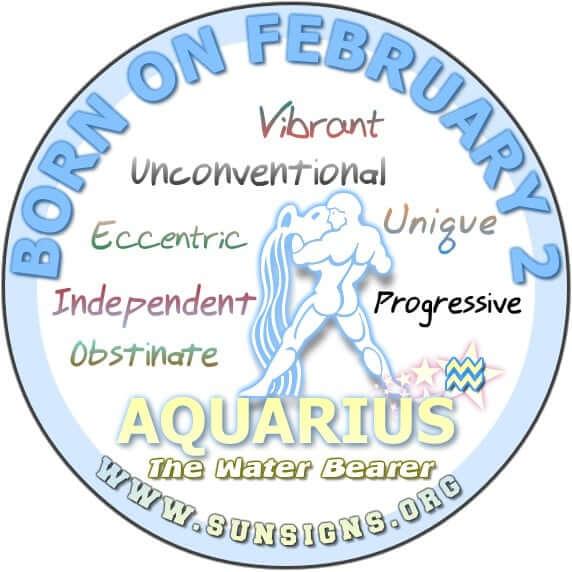 2 february birthday aquarius