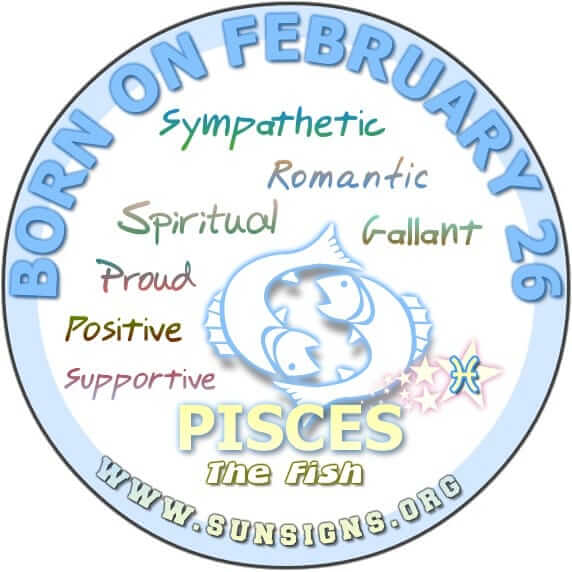 today 26 february my birthday astrology