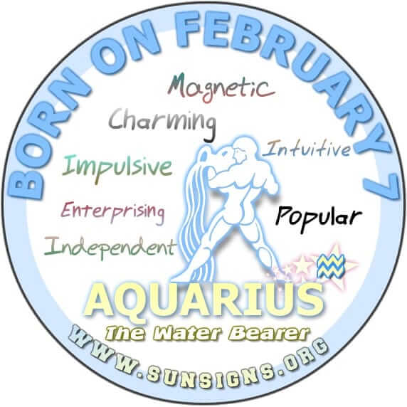 7 february birthday aquarius