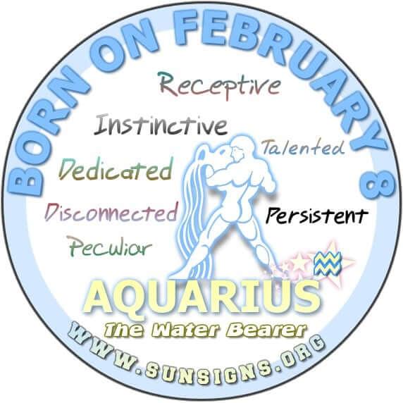 8 february birthday aquarius