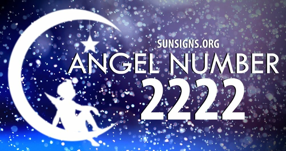 The Angel number 2222 is all about balance