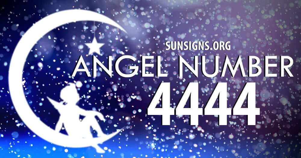 Angel number 4444 implies working hard to be successful
