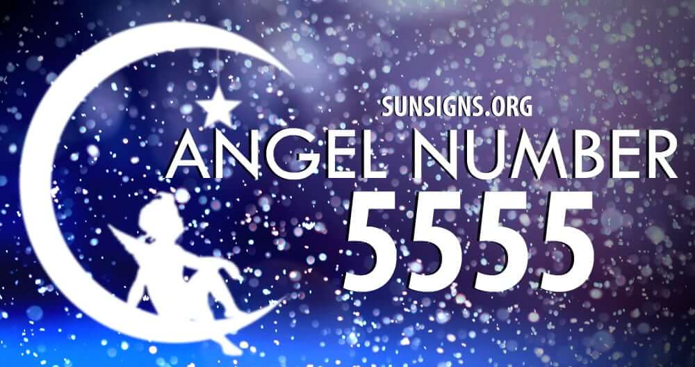Angel number 5555  signifies major changes