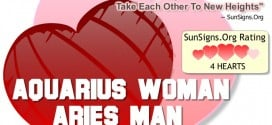 aquarius woman aries man