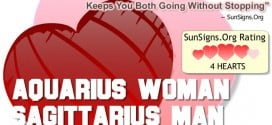 aquarius woman sagittarius man