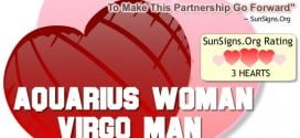 aquarius woman virgo man