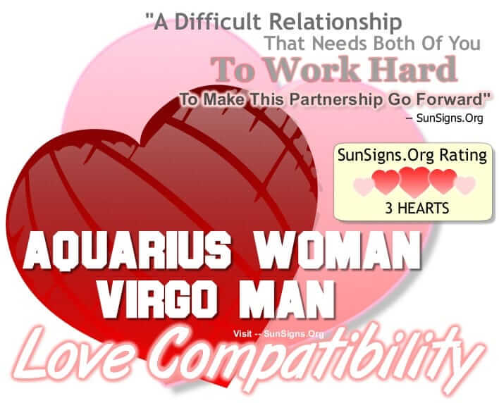 horoscope love match virgo aquarius Free love match by sign, career compatibility, chinese compatibility & more.