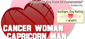 cancer woman capricorn man