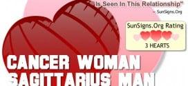 cancer woman sagittarius man