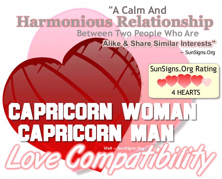 Capricorn Woman Capricorn Man Love Compatibility