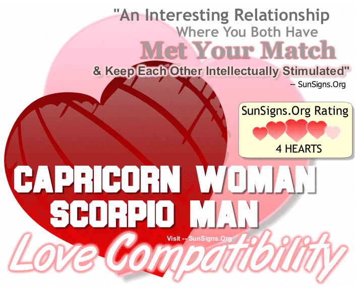 Capricorn Woman Compatibility With Men From Other Zodiac Signs Sunsigns Org