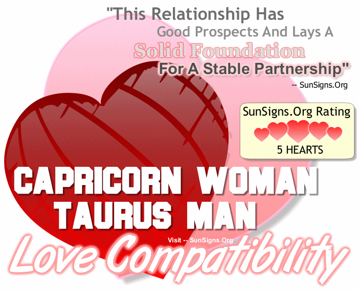 capricorns are compatible with what sign
