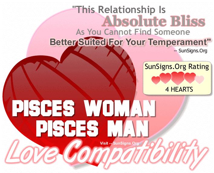 Pisces woman pisces man compatibility