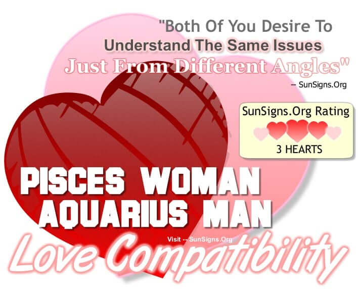 aquarius man pisces woman compatibility