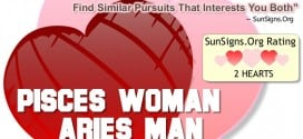 pisces woman aries man