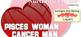 pisces woman cancer man