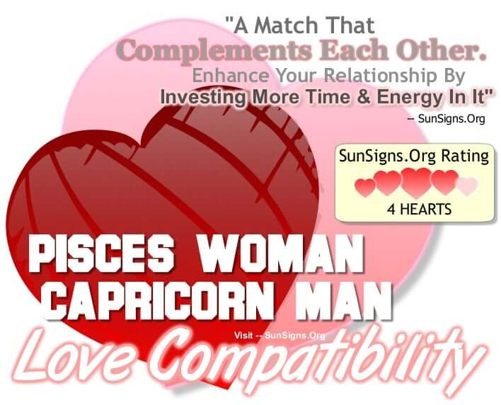 pisces woman capricorn man