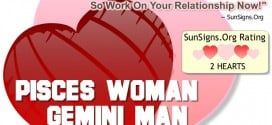 pisces woman gemini man