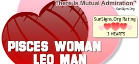pisces woman leo man