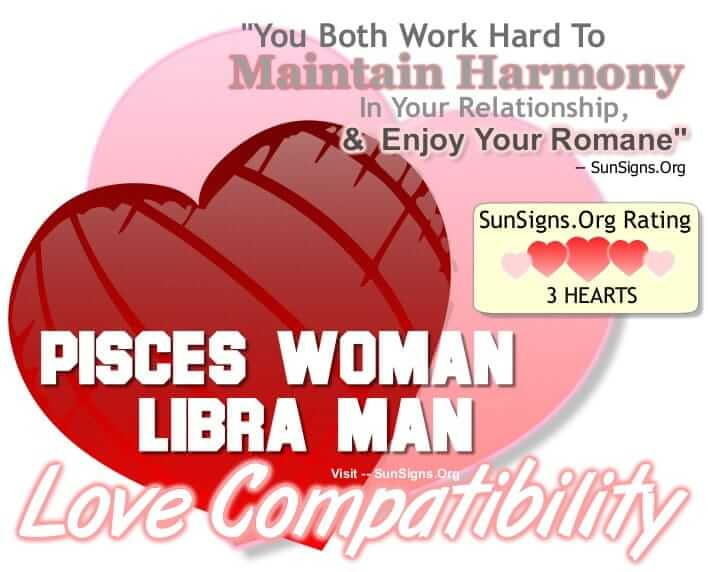 pisces woman libra man