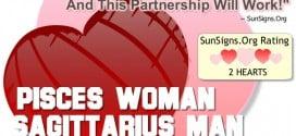 pisces woman sagittarius man
