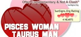pisces woman taurus man
