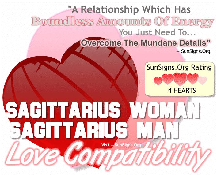 Sagittarius Woman Sagittarius Man Love Compatibility