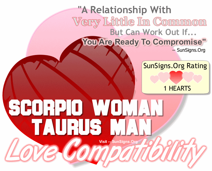 Most compatible sign for scorpio woman