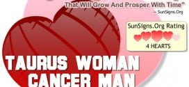 taurus woman cancer man