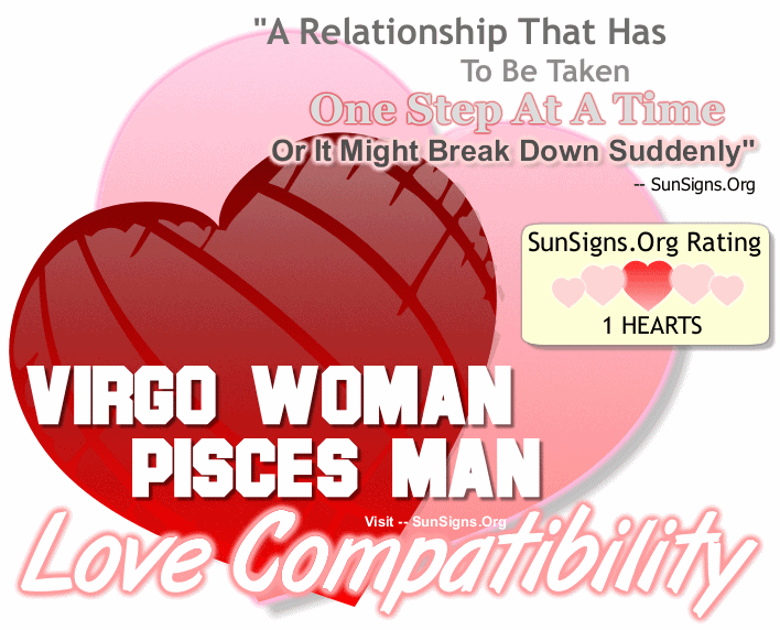 Virgo Woman Pisces Man Love Compatibility