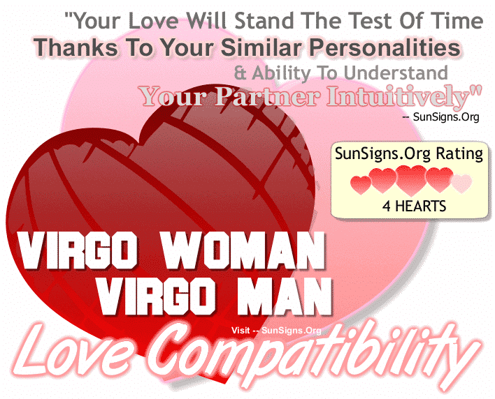 Virgo Woman Virgo Man Love Compatibility