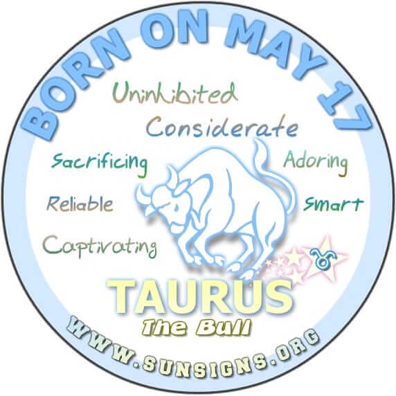 May 17 Zodiac Horoscope Birthday Personality | SunSigns Org