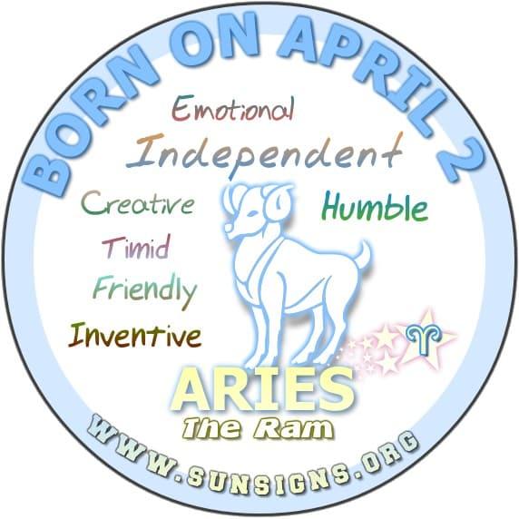 april 2 birthday personality