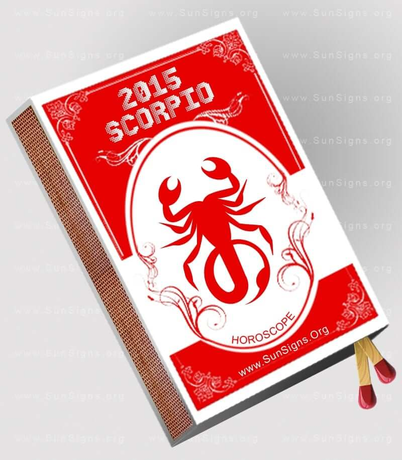 The 2015 Scorpio horoscope predicts that the coming year will be an exciting one for the Scorpion.