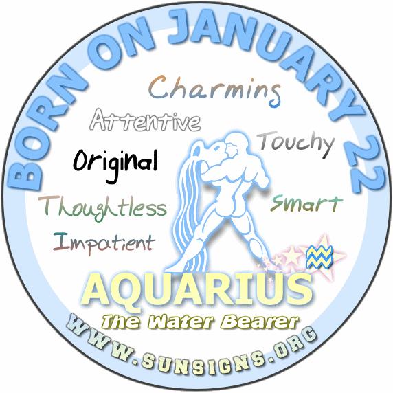 22 january birthday aquarius