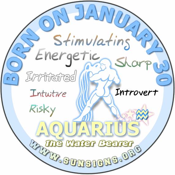 30 january birthday aquarius