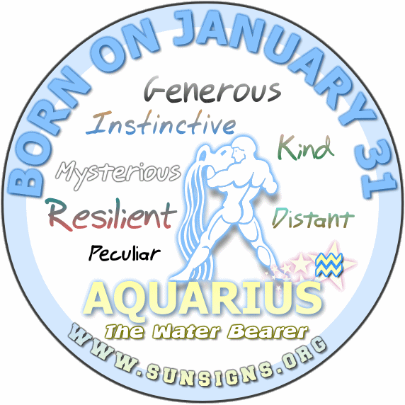 31 january birthday aquarius
