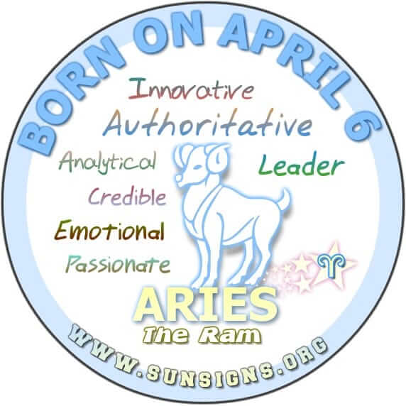 IF YOU ARE BORN ON APRIL 6, you are a great leader, and you love being in control.