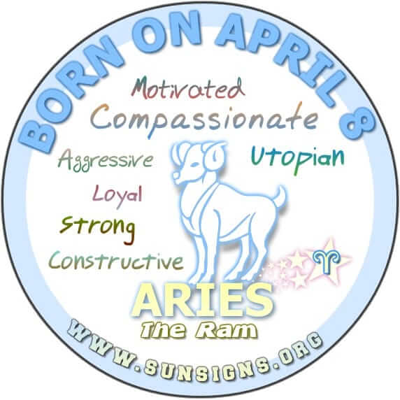 As an April 8 zodiac birthday person, you are self-assured as you are your own person.